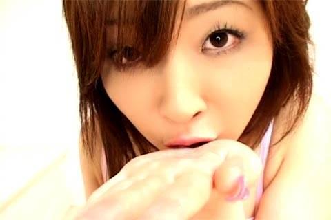 Junna Aikawa, Sucking Cock and Slurping Come